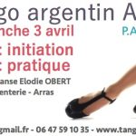 Initiation et pratique tango à Arras le 3 avril